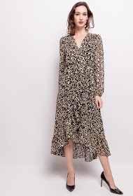 LILIE ROSE printed dress