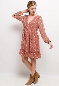LILIE ROSE vestido estampado