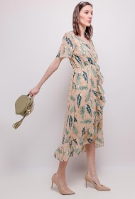 LILIE ROSE printed dress