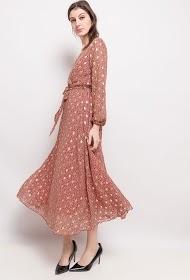 LILIE ROSE lange jurk met print
