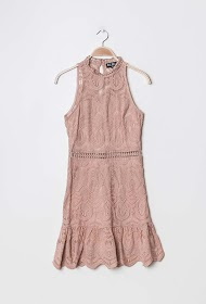 LILY MCBEE embroidered dress