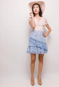 LILY MCBEE flowery dress