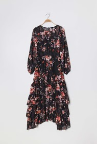LILY MCBEE long floral dress