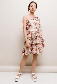 LILY MCBEE flowery ruffled dress