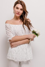 LIN&LEI lace blouse