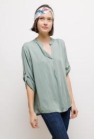 LIN&LEI flowing blouse