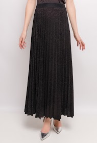 LIN&LEI long pleated skirt