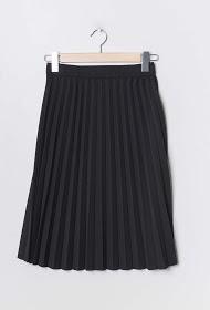 LIN&LEI pleated midi skirt