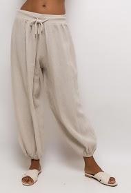 LIN&LEI wide pants harem pants