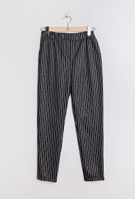 LIN&LEI striped trousers