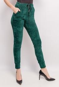 LIN&LEI velvet pants