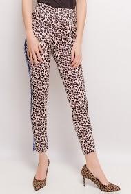 LIN&LEI luipaard broek