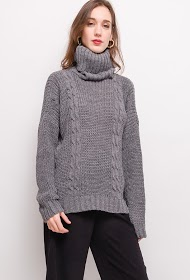 LIN&LEI turtleneck sweater