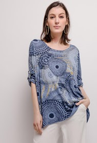 LIN&LEI fine printed sweater