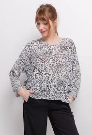 LIN&LEI camisola de leopardo