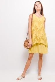 LIN&LEI vestido floral solto