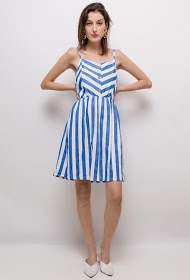 LIN&LEI striped dress
