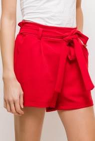 LIN&LEI shorts with belt
