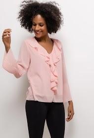 LIN&LEI ruffled blouse