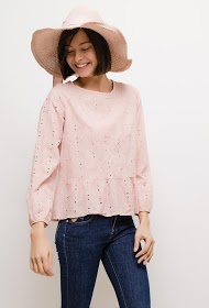 LIN&LEI embroidered blouse