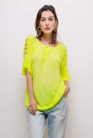 LIN&LEI tunic with lace
