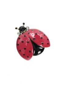 LOLILOTA ladybug brooch