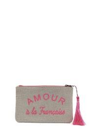"LOLILOTA straw fabric pack ""love à la française"" s"