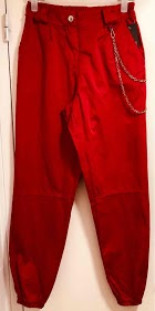 LOOKING pants with chain