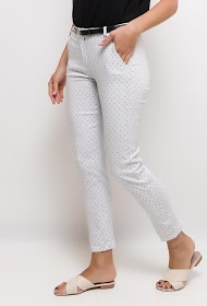 LOOKING printed trousers