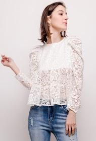 LOVIE LOOK lace blouse