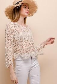 LOVIE LOOK hæklet bluse