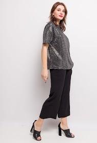 LOVIE LOOK sequin blouse
