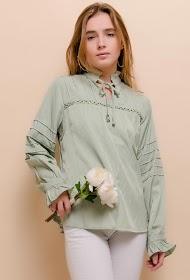 LOVIE LOOK silky blouse