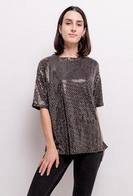 LOVIE LOOK sequined blouses