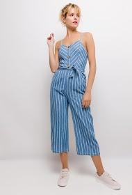 LOVIE LOOK striped jumpsuit