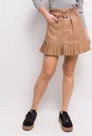 LOVIE LOOK leatherette skirt