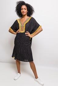 LOVIE LOOK striped beach dress