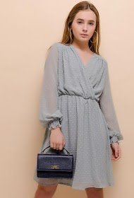 LOVIE LOOK plumetis kjole