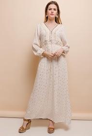 LOVIE LOOK lang bohemsk kjole