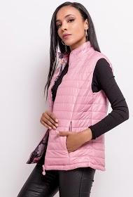 LUCKY 2 reversible sleeveless jacket
