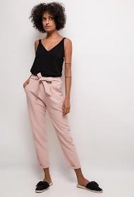 LUCKY 2 fluid pants with belt