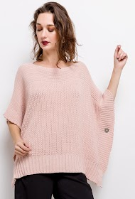 LUCKY 2 poncho en maille