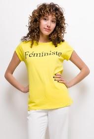 """LUCKY 2 """"feministisches"""" t-shirt"""