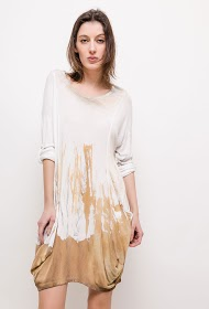LUCKY 2 tunic or dress in fine knit