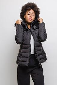 LUCKY JEWEL hooded puffer jacket