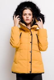 LUCKY JEWEL down jacket with hood