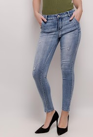 LUIZACCO jean skinny usé
