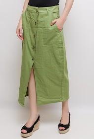 LUIZACCO buttoned skirt