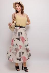 LUIZACCO long pleated skirt