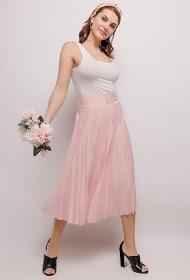 LUIZACCO jupe longue plissée